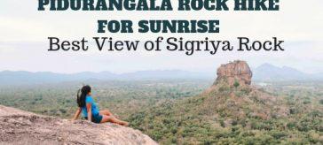 Pidurangala Rock Sri Lanka