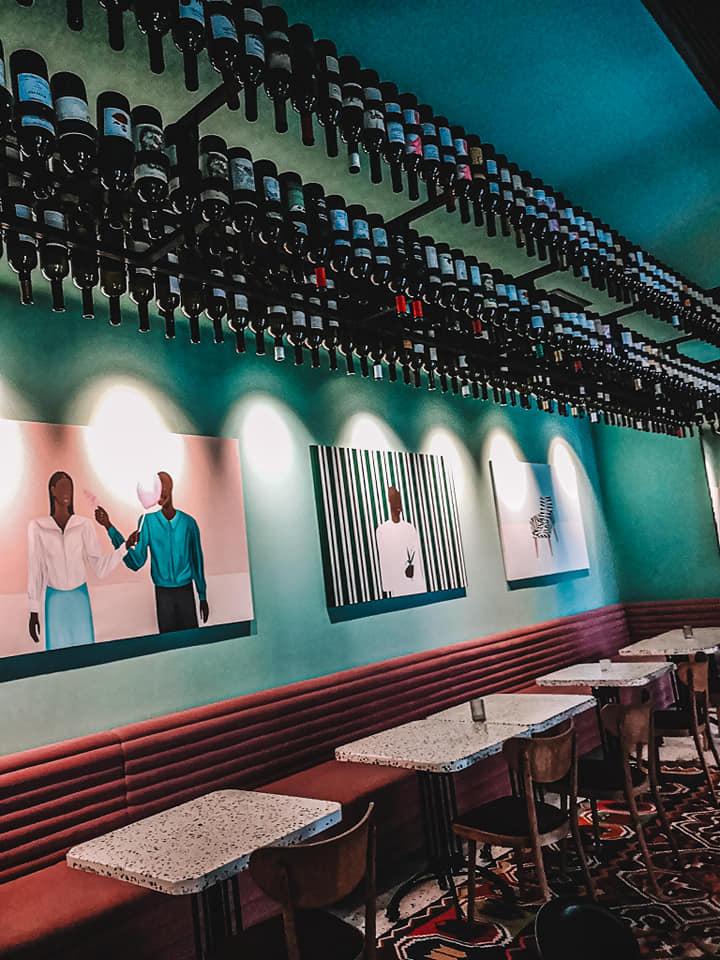 G Vino Hotel Lobby