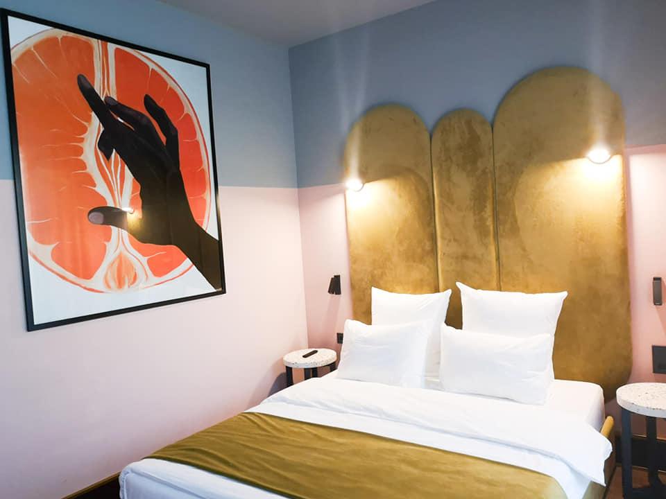G Vino Hotel Room