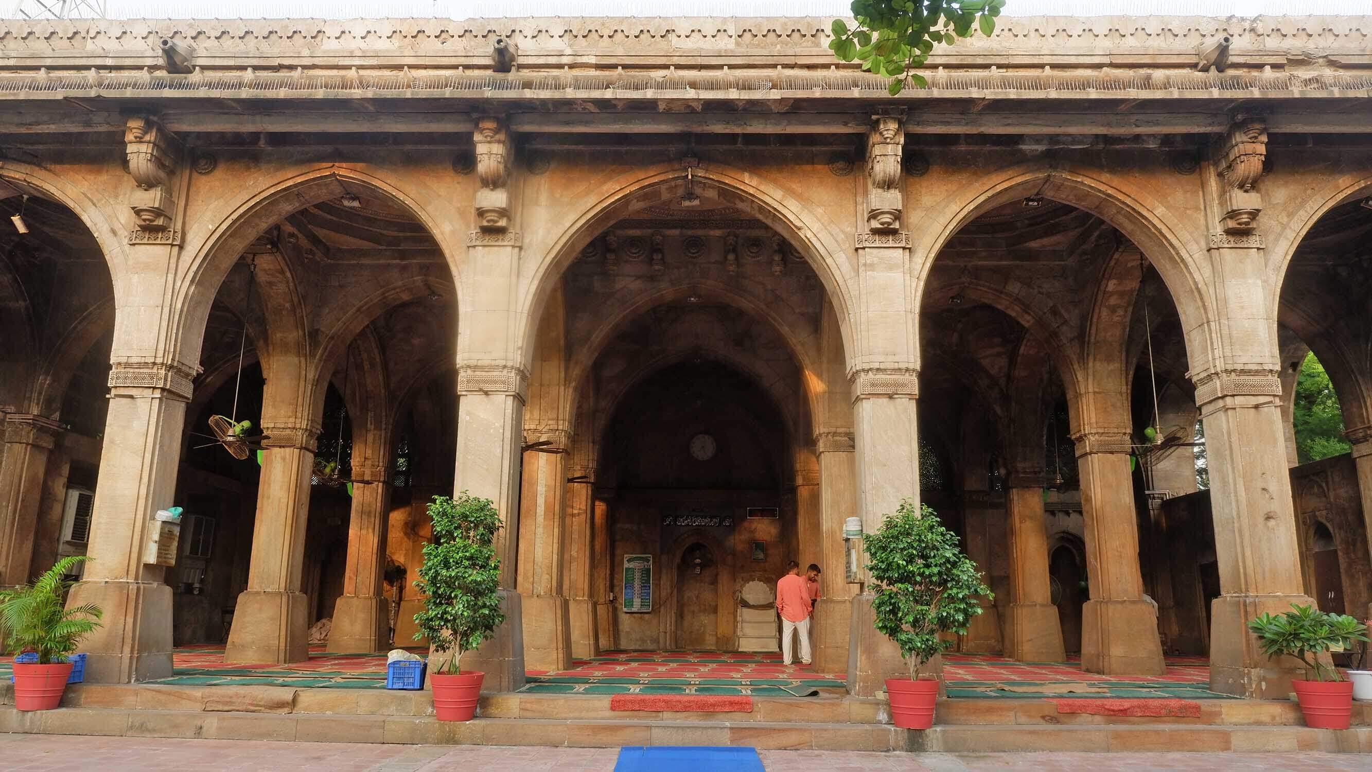 Gandhi Circuit Tour India - Sidi Sayeed Mosque