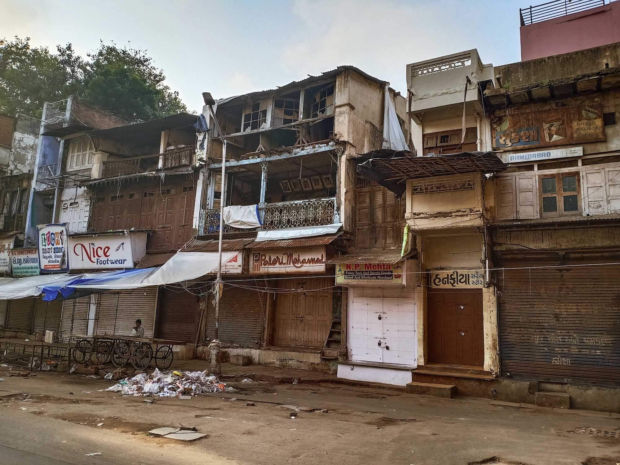 Gandhi Circuit Tour India- Old Ahmedabad House