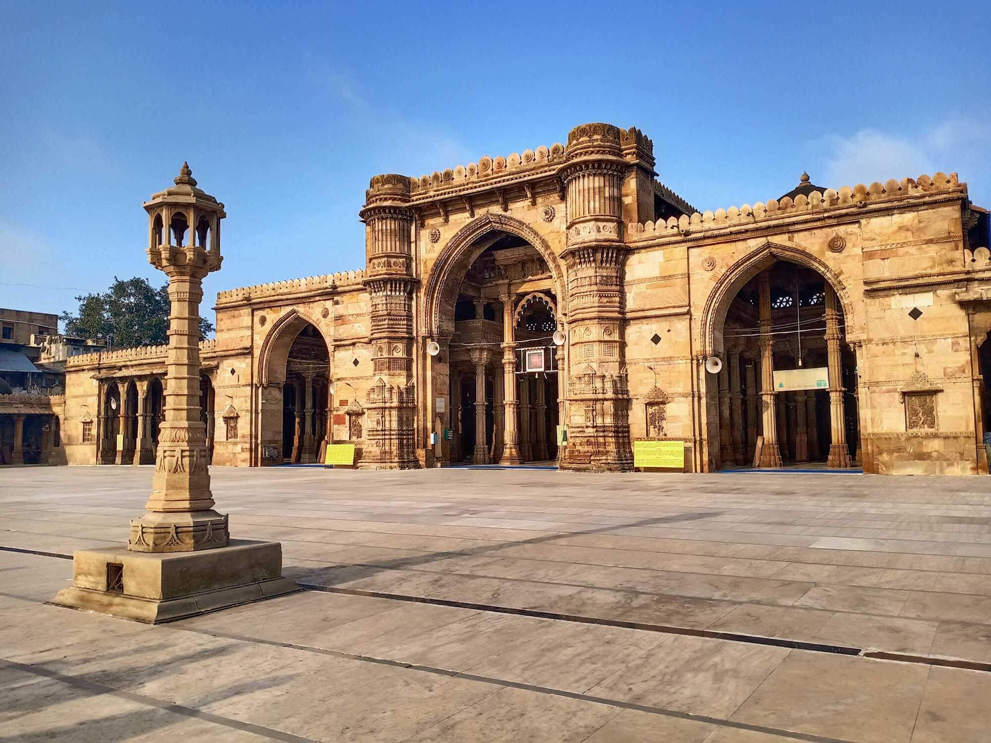 Gandhi Circuit Tour India- Jama Masjid