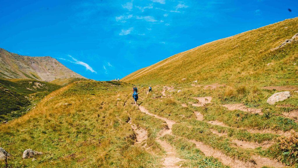 Hiking Kazbegi