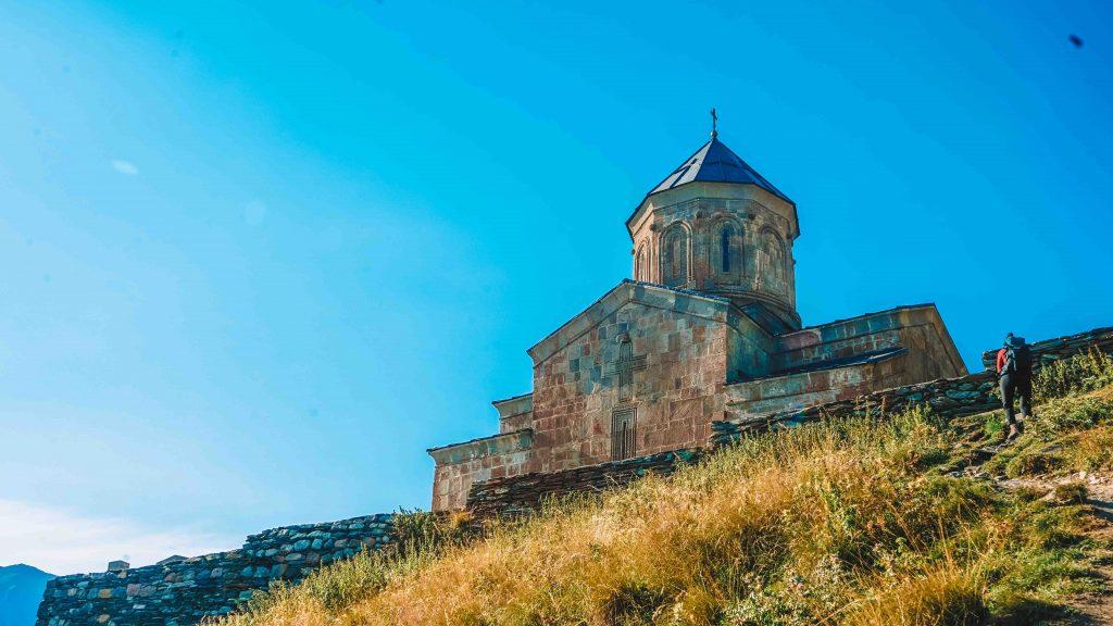 Gergeti Church Kazbegi