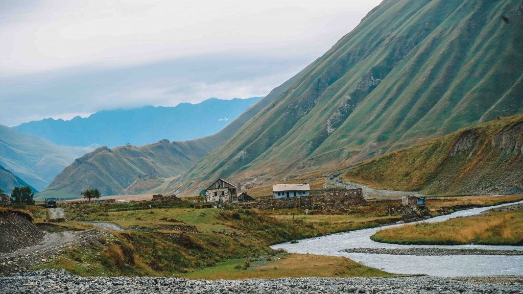 Day hikes from Kazbegi
