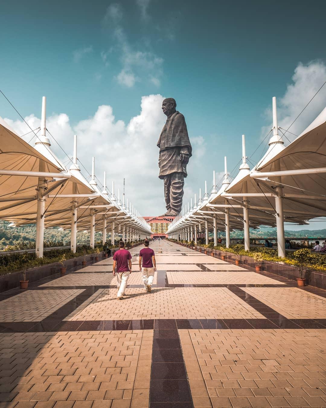 Instagrammable Spots in Gandhi Circuit Gujarat India - Statue of Unity