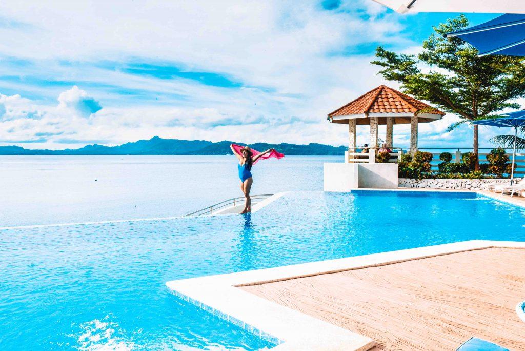 Infinitiy Pool in Dakak Beach Resort