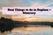 Dakak Itinerary