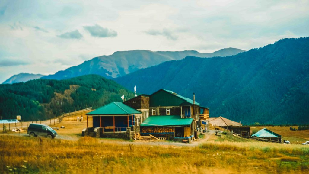 Tourist Information Center in Tusheti