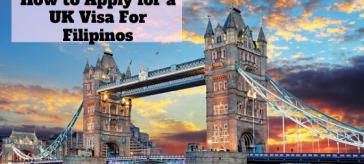 UK Tourist Visa For Filipinos
