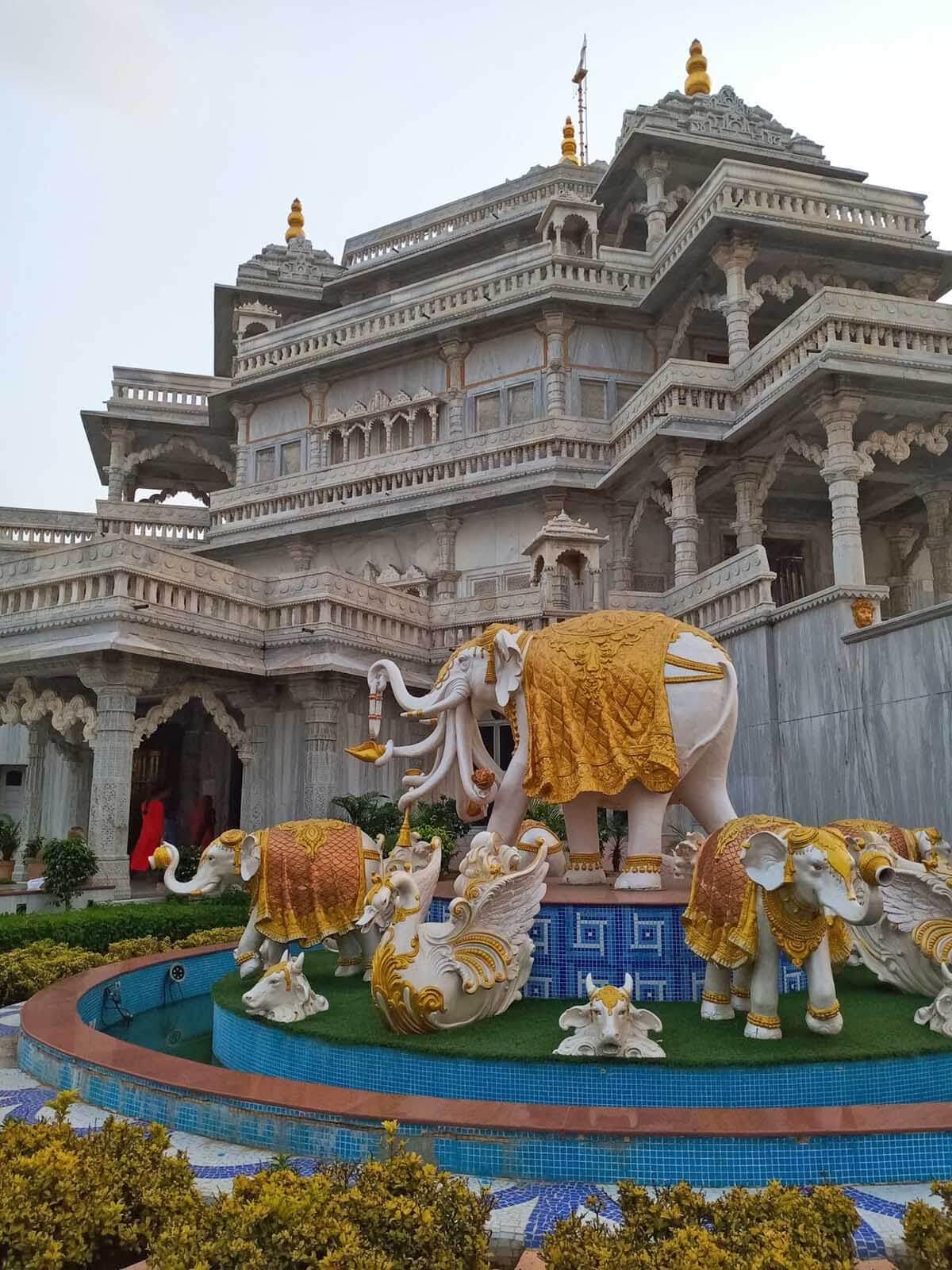 Instagrammable Spots in Gandhi Circuit Gujarat India - Memorial Temple