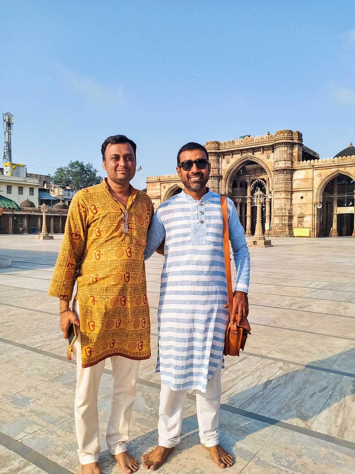 Instagrammable Spots in Gandhi Circuit Gujarat India - Jama Masjid Ahmedabad