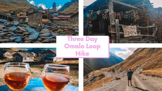 Hiking Omalo Loop