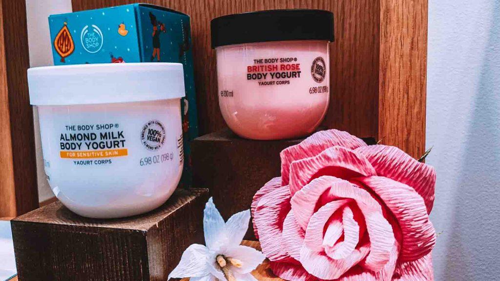 Body Yogurt in Body Shop