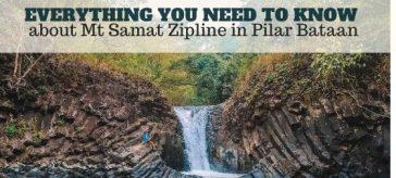 Mt Samat Zipline