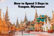 Yangon Itinerary