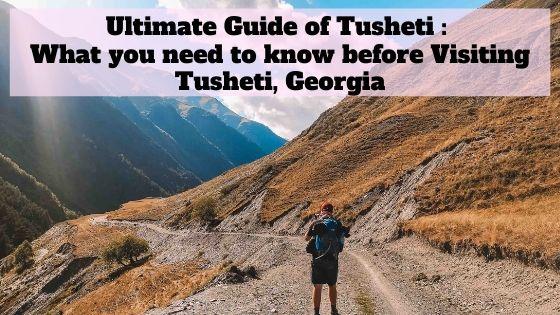 Tusheti Hike Tips
