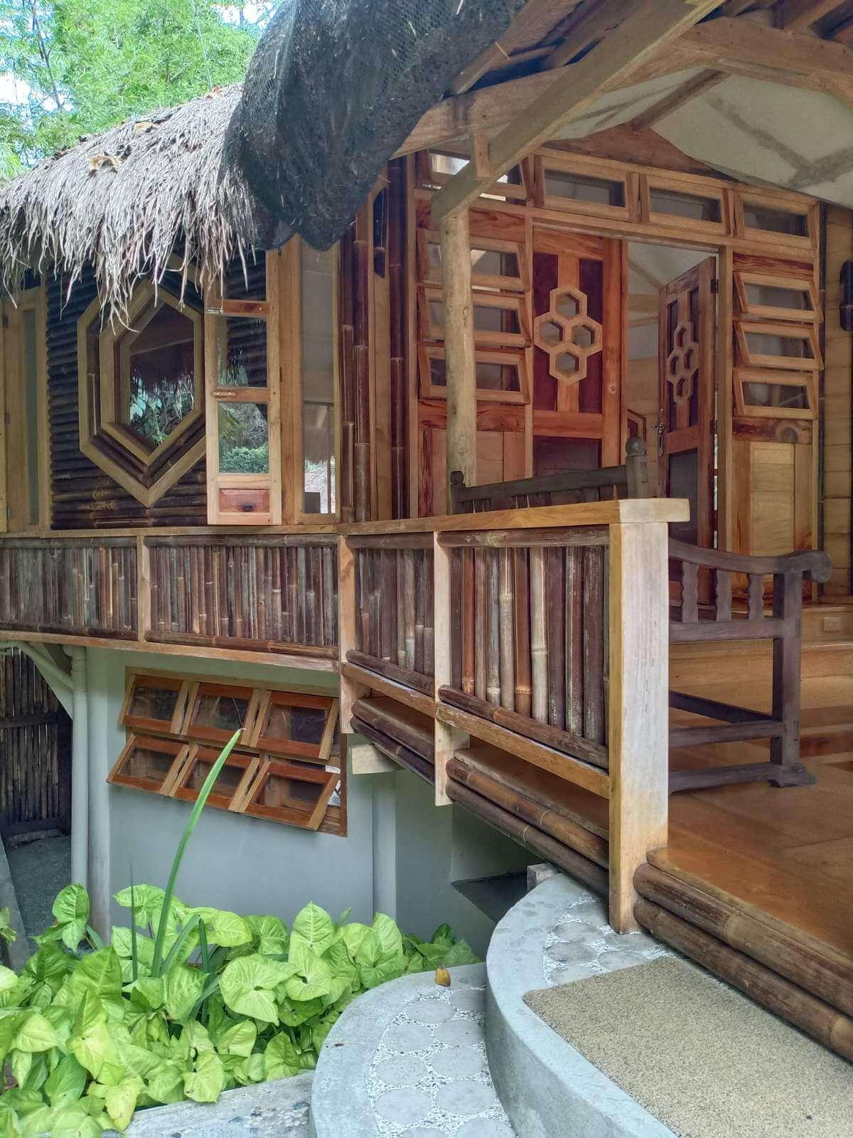 Lotus Valley Farm La Union - Bamboo Huts