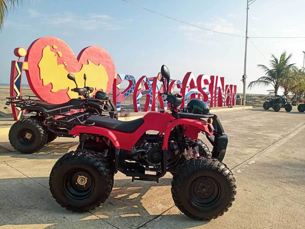 pangasinan travel guide - Tol ATV