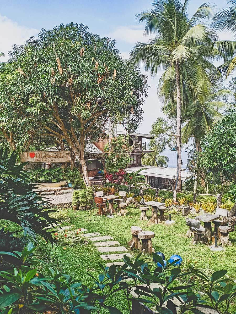 OldWoods by the Sea Nature Resort -Garden