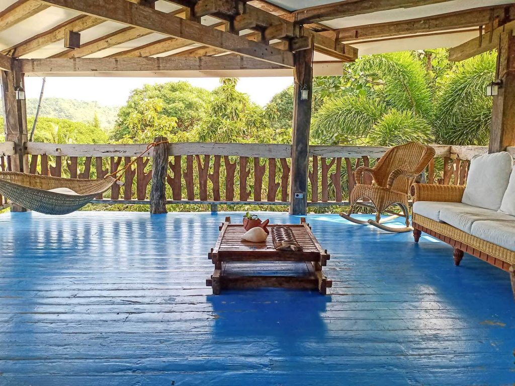 OldWoods by the Sea Nature Resort - Veranda