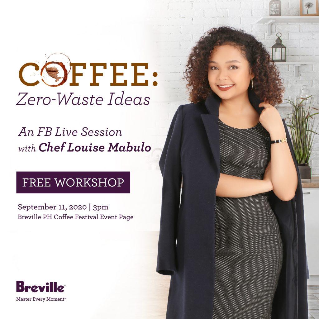 Chef Louise Mabulo Breville Coffee Festival | Karlaroundtheworld.com