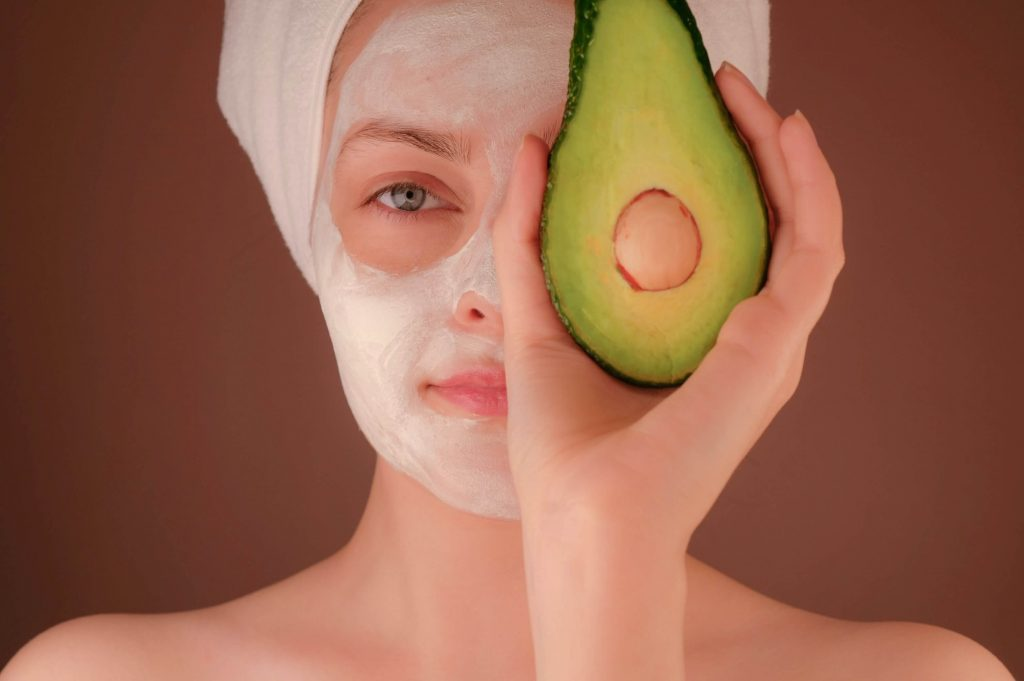 avocado facial mask for skin care | Keeping Your Skin Smooth and Glowing Even on Lockdown| Karlaroundtheworld.com